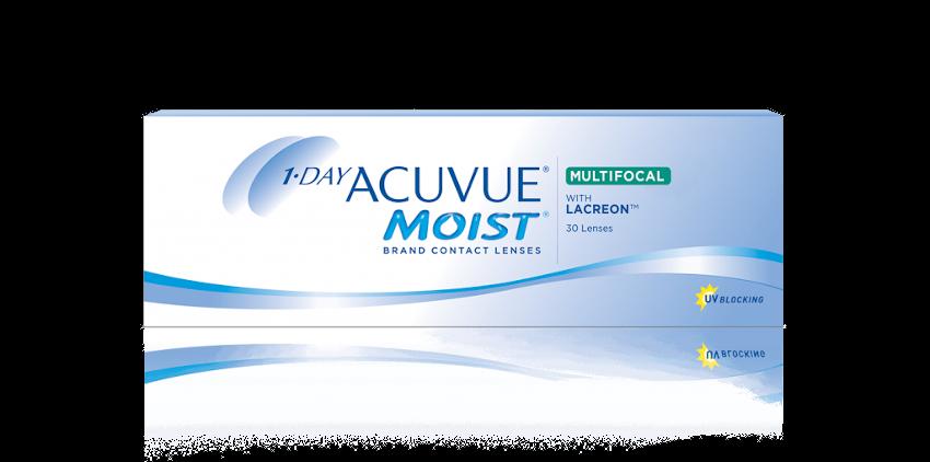 1-DAY ACUVUE® MOIST MULTIFOCALI – Lenti a contatto giornaliere multifocali per presbiopia