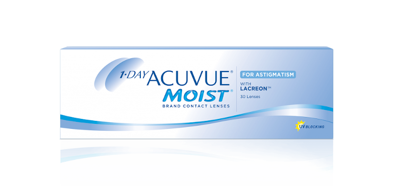 1-DAY ACUVUE® MOIST for ASTIGMATISM – Lenti a contatto toriche giornaliere per astigmatismo