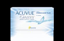 ACUVUE OASYS® con tecnologia HYDRACLEAR® PLUS – Lenti a contatto quindicinali mensili per miopi e ipermetropi