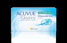 ACUVUE OASYS® per PRESBIOPIA con tecnologia HYDRACLEAR® PLUS – Lenti a contatto quindicinali per presbiopia