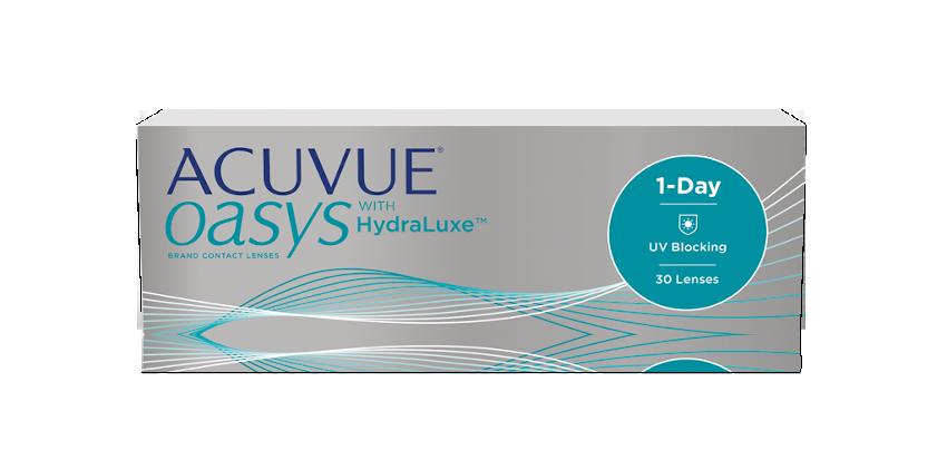 ACUVUE® OASYS® 1-Day con TECNOLOGIA HydraLuxe™ – Lenti a contatto giornaliere per miopi e ipermetropi