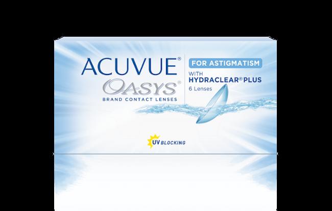ACUVUE OASYS® for ASTIGMATISM con tecnologia HYDRACLEAR® PLUS – Lenti a contatto toriche quindicinali per astigmatismo