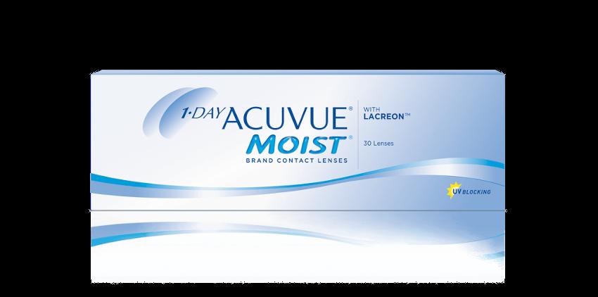 1-DAY ACUVUE® MOIST – Lenti a contatto giornaliere per miopi e ipermetropi